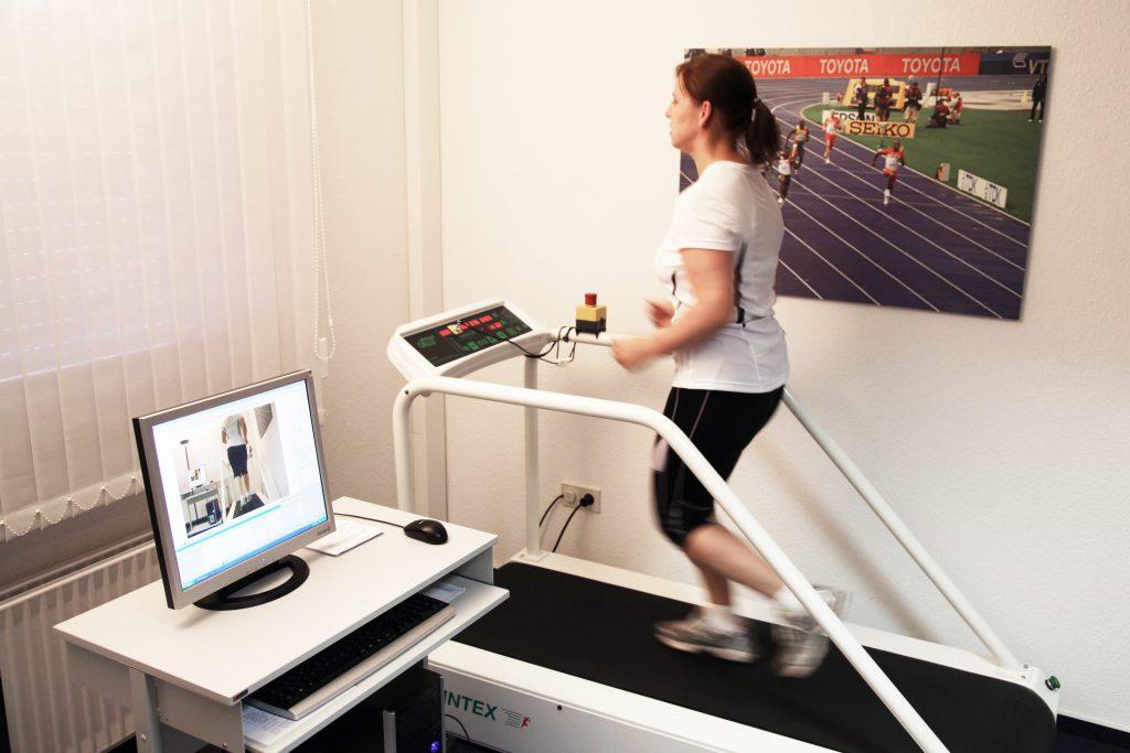 Video-Laufbandanalyse in der Orthopädiepraxis Bad Essen