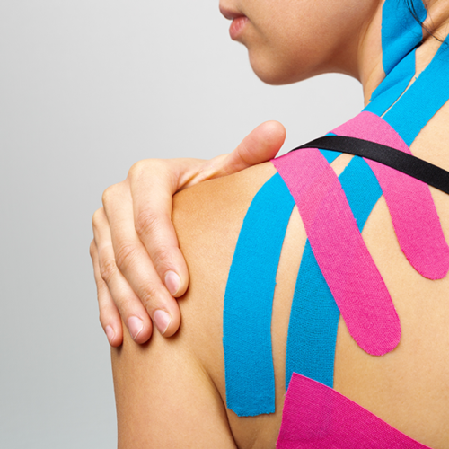 Kinesio-Taping Behandlung als in der Orthopädiepraxis Bad Essen