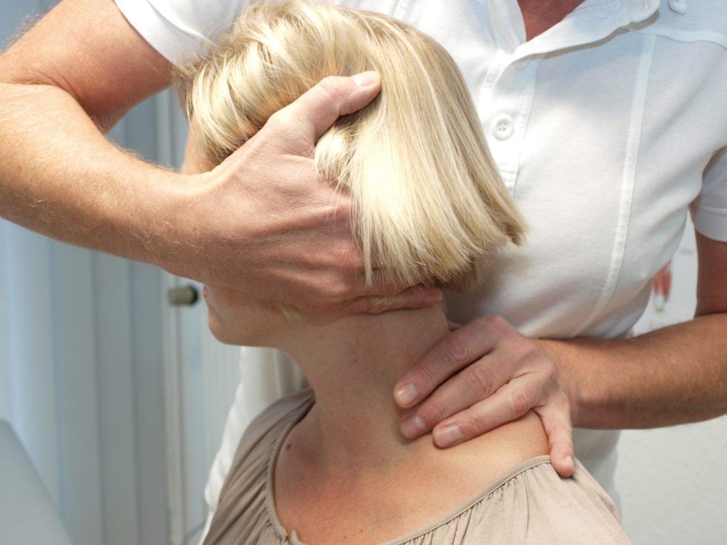 Chirotherapie Behandlung als in der Orthopädiepraxis Bad Essen